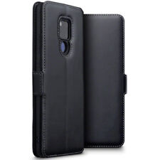 Huawei Mate 20 X  Real Leather Wallet  Shockproof  Fitted Case Black  CAZE™