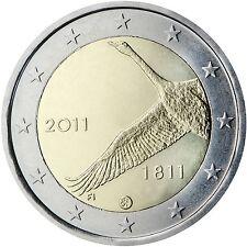 """2 Euro Finnland 2011  """" Nationalbank  """"  STG"""
