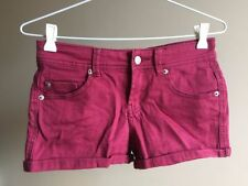 Patternless Cotton On Machine Washable Shorts for Women