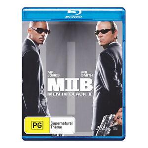 Men in Black 2 Blu-ray New Region - Tommy Lee Jones, Will Smith - Free Post