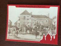 b1v postcard unused royal mail coach and horses at white lion finchley