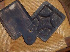 MOULE A BEURRE TRES ANCIEN ART DE LA TABLE 25X14X5CM EPAISSEUR