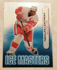 1999-00 Topps Chrome Ice Masters Detroit Red Wings Nicklas Lidstrom Card IM19