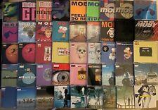 Moby CD Sammlung, 45 Maxi CDs