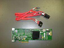 LSI MegaRAID (MR SAS 8704ELP) SAS/SATA RAID Controller Card & Cables