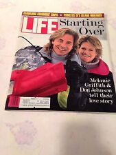 LIFE MAGAZINE APRIL 1989 DON JOHNSON & MELANIE GRIFFITH ~ VINTAGE ADS **MINT**