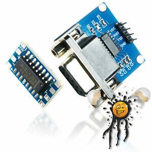MAX3232 RS232 seriell to UART TTL Level Konverter Adapter DB9 3-5.5V Null-Modem