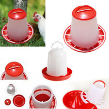 2pcs 1.5L Drinker&1.5kg Feeder Chicken/Poultry/Chick Food & Water Accesories