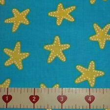 Pacific Sun & Sea AAK-16278-60 Starfish Cotton Quilt Fabric BTHY R Kaufman