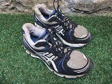 Asics Gel Kayano 18 Blue 5k 10k Half Marathon Running Jogging Shoes ~ Mens UK 9