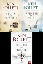 Ken Follett, Sturz der Titanen, Winter der Welt, Kinder der Freiheit