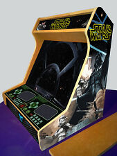 """19"""" Arcade bartop cabinet MDF board + STICKERS - Kit DIY"""