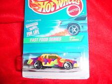 Hot Wheels #419 Crunch Chief 3 Spoke Rims Fast Food Series Free Usa Shipping