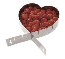 WESTMARK Tortenring Herzform Kuchenrahmen Edelstahl 3134