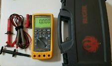 USED FLUKE 789 PROCESS METER  W/ LEADS + MORE! 239627 - 239628