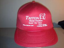 Triton Horse Trailers Washington Adjustable Snapback Hat