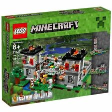 LEGO MINECRAFT The Fortress 21127 Building Toys Blocks Set Minifigures Steve Kid