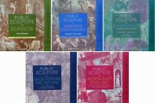 5 BOOKS : PUBLIC SCULPTURE of BRITAIN (antique statue bronze,bronzen beeld,steen
