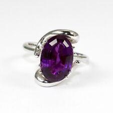 Aufwendiger Ring mit wunderschönem Amethyst ca. 13 x 9 mm; Gew. 6,4 Gramm