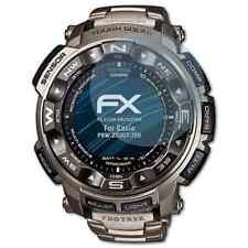 atFoliX 3x Schermbeschermer voor Casio PRW-2500T-7ER Screen Protector duidelijk