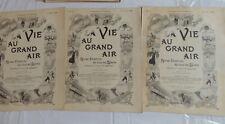 Ancienne revue La vie au grand air air - 1898/1902 - comme neuf