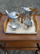 More details for mid-century picquot ware tea & coffee set