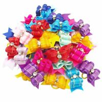 Rubber Band Handmade Hair Clips Products Grooming Accessories Puppy Small Dogs