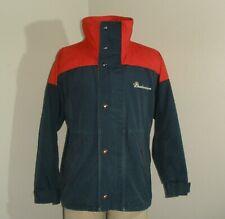 Vintage Mens Bud Light Budweiser Beer Drinkers Embroidered Coat Jacket Large