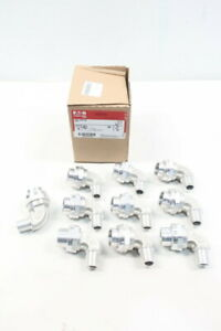 Box Of 10 Crouse Hinds UNL125 SA Conduit Elbow Fitting 1/2in-3/4in