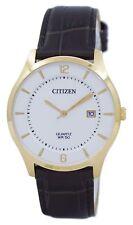 Reloj de cuarzo analógico de ciudadano estándar BD0043-08B los hombres