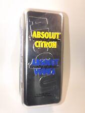 ABSOLUT VODKA BOX Shot Glasses set 2 x 50 ml mini flaschen bottle miniature