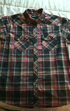 THE NORTH FACE  Mens Button up s/s Shirt SZ MED VGUC