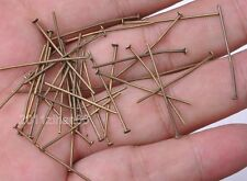 wholesale Plated Eye Pin Flat Head Pin Ball Pin Finding 20mm 30mm 40mm 50mm