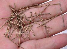 wholesale Plated Eye Pin Flat Head Pin Ball Pin Finding 20mm 30mm 40mm 50mm