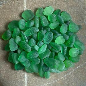 Genuine Surf Tumbled Sea Glass - JQ - 100 Shades of Green