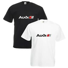 Audi Sport T-Shirt VARIOUS SIZES & COLOURS R8 RS3 RS4 RS5 RS6 Car Enthusiast