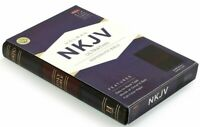 NKJV Ultrathin Reference Bible Saddle Brown LeatherTouch Imitation Leather