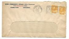 Slogan Cancel PROTECT THE BIRDS AND HELP THE CROPS on a Hamilton, Ont, cover