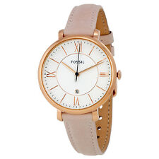 Fossil Jacqueline White Dial Ladies Casual Watch ES3988