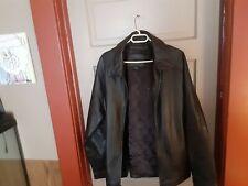 Vintage Knightsbridge Leather Jacket Xl Black