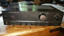 Technics SU-610 Stereo Integrated Amplifier powers 4 speakers (2 pairs)