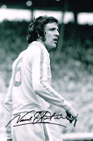 NORMAN HUNTER HAND SIGNED PHOTO AUTOGRAPH COA LEEDS UNITED UTD 2