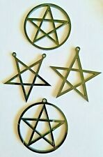 Perspex da Pittore Bianca Assortito Pentangle Pentacolo Forme Taglio Laser -