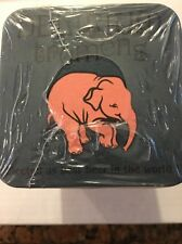 Delirium Tremens Belgium Beer Coasters Lot of 100 Blue with Pink Elephant NEW