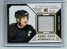 Mario Lemieux 2015 In The Game Used Jersey Card /15