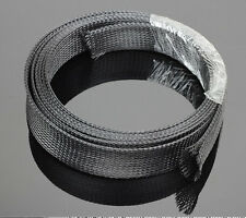 Expandable Retardant nylon Braided sleeving Harness Sheathing wire 5 Meter Φ5MM