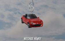 2015 Mazda MX-5 Miata Christmas Ornament 1/64 Convertible Sports Car Roadster