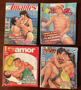 Assorted EL LIBRO Pasional & Policiaco Mexican Comics (L)