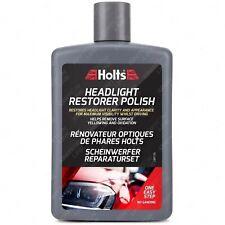 Holts Headlight Restoration Polish Car Lens Remove Yellowing Dirt Cleaner 475ml