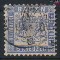 Baden 19a Pracht gestempelt 1864 Wappen (9158195